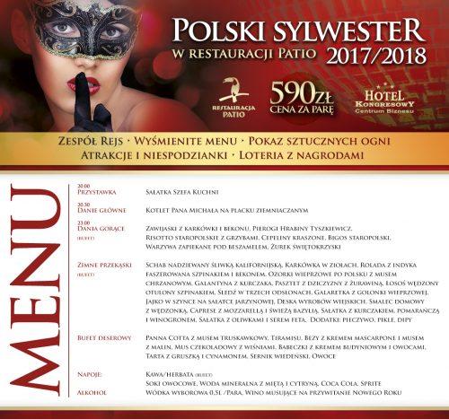 SYLWESTER_menu na FB